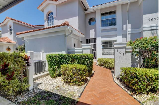 7677 Springwater Place #101, Boynton Beach, FL 33437 (#RX-10707759) :: Dalton Wade
