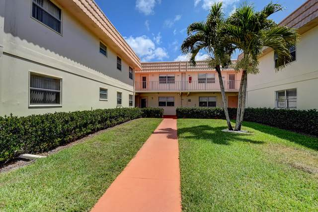 332 Saxony G, Delray Beach, FL 33446 (MLS #RX-10707773) :: Castelli Real Estate Services