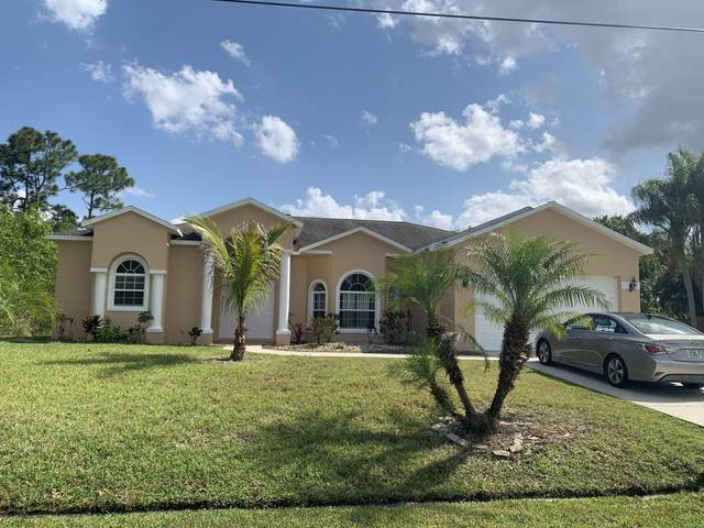 2280 SW Culpepper Avenue, Port Saint Lucie, FL 34953 (#RX-10707784) :: Posh Properties