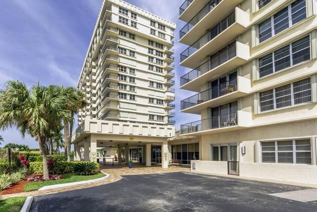 2121 N Ocean Boulevard 1105E, Boca Raton, FL 33431 (MLS #RX-10707872) :: Berkshire Hathaway HomeServices EWM Realty