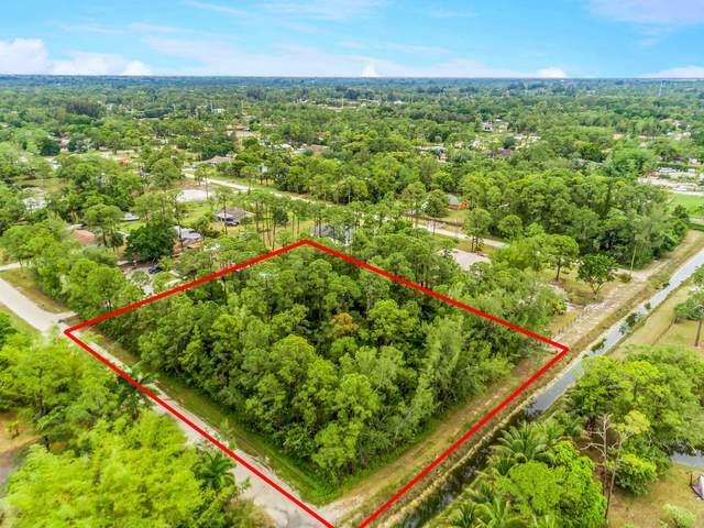 00 38th Rd N Road N, Loxahatchee, FL 33470 (MLS #RX-10708218) :: Berkshire Hathaway HomeServices EWM Realty