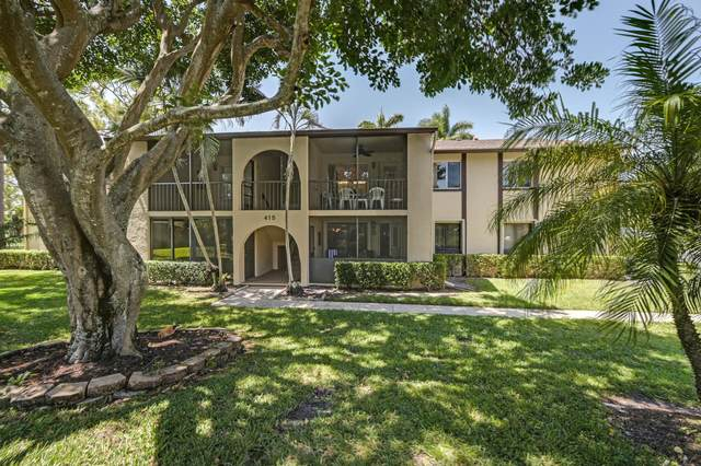 415 Pine Glen Lane B2, Greenacres, FL 33463 (MLS #RX-10708502) :: Castelli Real Estate Services