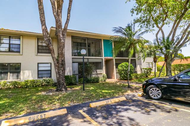 9810 Pineapple Tree Drive #210, Boynton Beach, FL 33436 (MLS #RX-10708536) :: The Jack Coden Group