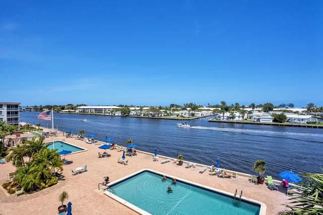2012 S Federal Highway #406, Boynton Beach, FL 33435 (#RX-10708634) :: Real Treasure Coast