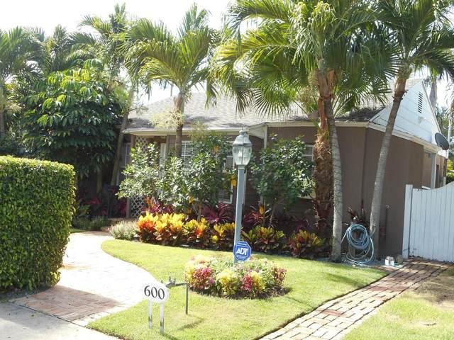 600 Westwood Road, West Palm Beach, FL 33401 (#RX-10708717) :: Real Treasure Coast