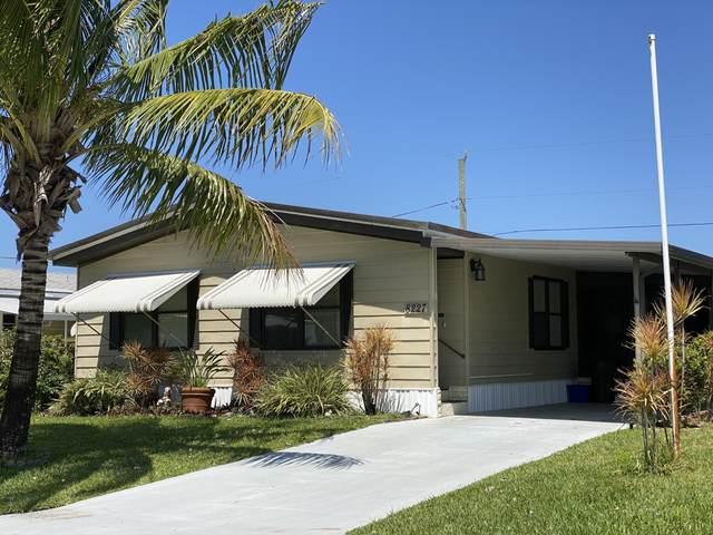 8227 SE Swan Avenue, Hobe Sound, FL 33455 (MLS #RX-10708793) :: The Jack Coden Group