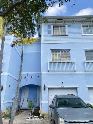 3539 NW 14th Court #3539, Lauderhill, FL 33311 (#RX-10708817) :: Real Treasure Coast