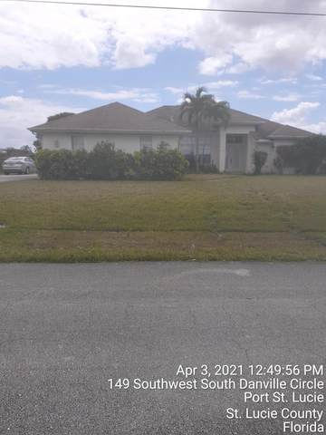 149 SW Danville Circle, Port Saint Lucie, FL 34953 (#RX-10708818) :: Signature International Real Estate