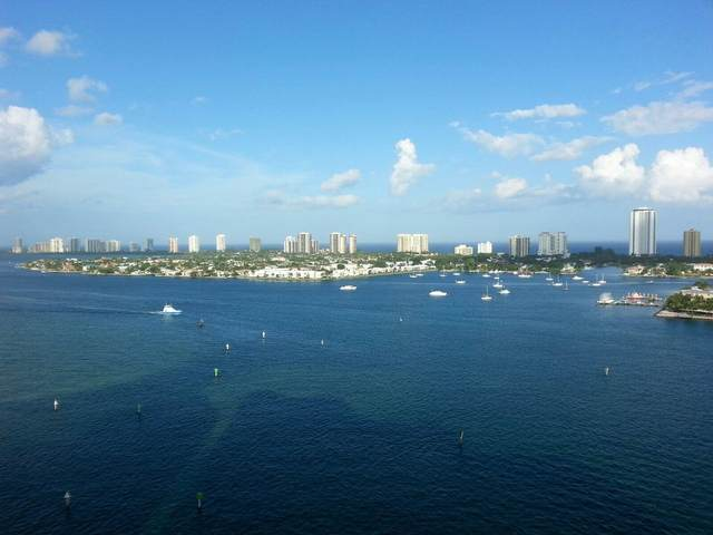 2640 Lake Shore Drive #1810, Riviera Beach, FL 33404 (MLS #RX-10708950) :: Berkshire Hathaway HomeServices EWM Realty