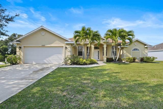 1097 SW Estaugh Avenue, Port Saint Lucie, FL 34953 (MLS #RX-10708956) :: The Jack Coden Group