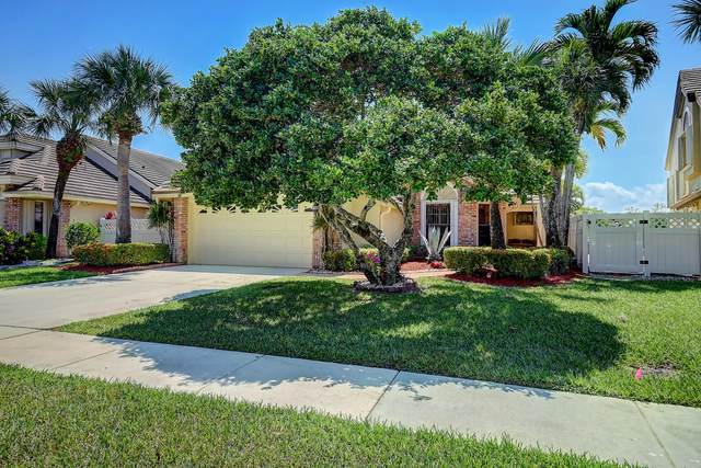 6836 Bitterbush Place, Boynton Beach, FL 33472 (MLS #RX-10708977) :: The Jack Coden Group