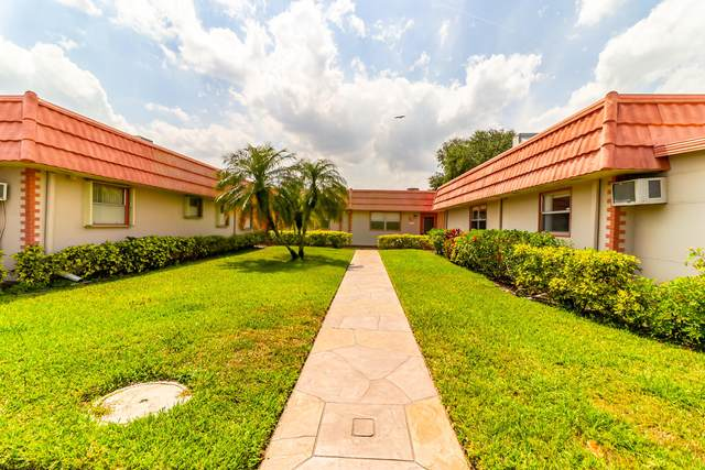 350 Seville O, Delray Beach, FL 33446 (MLS #RX-10708992) :: The Jack Coden Group