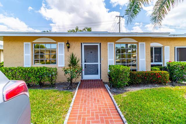 13678 Via Flora A, Delray Beach, FL 33484 (MLS #RX-10708997) :: The Jack Coden Group