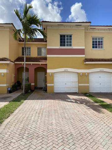 3670 NW 29th Court #3670, Lauderdale Lakes, FL 33311 (MLS #RX-10709002) :: Castelli Real Estate Services