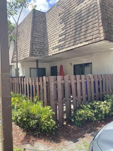 240 San Remo Boulevard #240, North Lauderdale, FL 33068 (MLS #RX-10709052) :: Castelli Real Estate Services