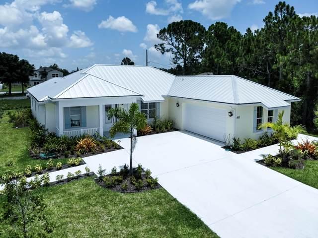 493 SW Seaflower Terrace, Port Saint Lucie, FL 34984 (MLS #RX-10709104) :: The Paiz Group