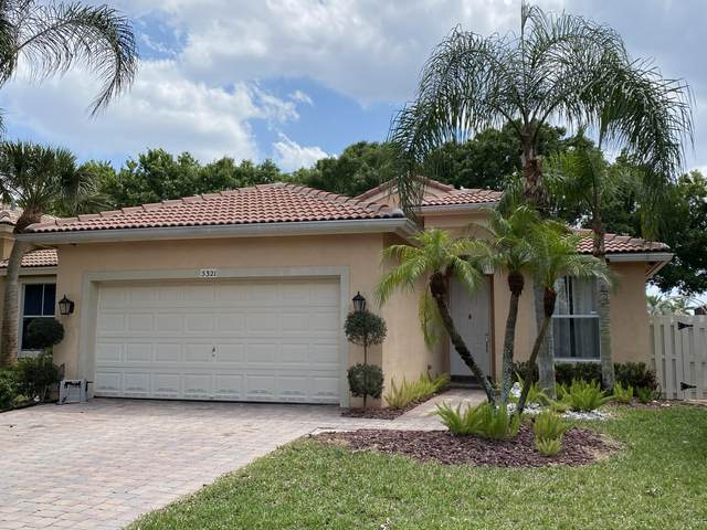 5321 Sancerre Circle, Lake Worth, FL 33463 (MLS #RX-10709121) :: The Jack Coden Group