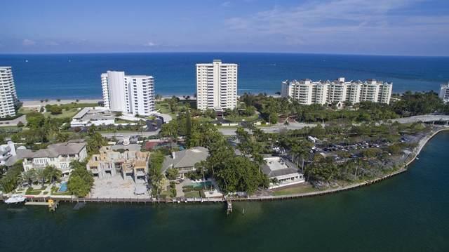750 S Ocean Boulevard 2-N, Boca Raton, FL 33432 (#RX-10709145) :: Baron Real Estate