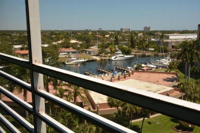 2731 NE 14th St Causeway #810, Pompano Beach, FL 33062 (MLS #RX-10709175) :: Castelli Real Estate Services