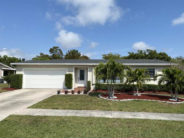 14599 Sunny Waters Lane, Delray Beach, FL 33484 (MLS #RX-10709335) :: THE BANNON GROUP at RE/MAX CONSULTANTS REALTY I