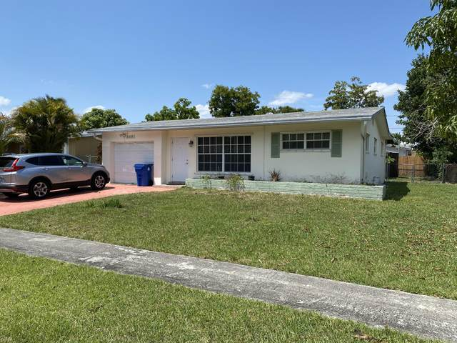 8681 NW 28th Street, Sunrise, FL 33322 (MLS #RX-10709362) :: United Realty Group