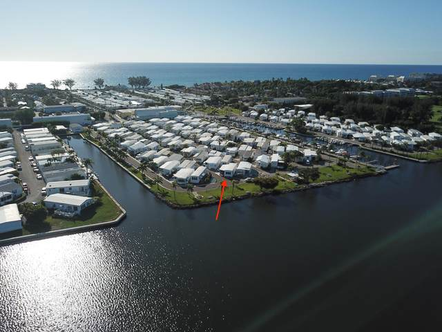 211 Lark Drive L, Briny Breezes, FL 33435 (MLS #RX-10709588) :: Berkshire Hathaway HomeServices EWM Realty
