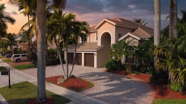 12311 Riverfalls Court, Boca Raton, FL 33428 (MLS #RX-10709667) :: The DJ & Lindsey Team