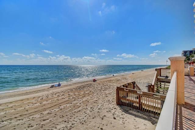 4505 S Ocean 302 Boulevard #302, Highland Beach, FL 33487 (MLS #RX-10709751) :: Berkshire Hathaway HomeServices EWM Realty