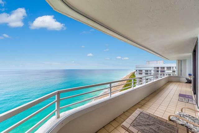 9950 S Ocean Drive, Jensen Beach, FL 34957 (MLS #RX-10709927) :: The DJ & Lindsey Team