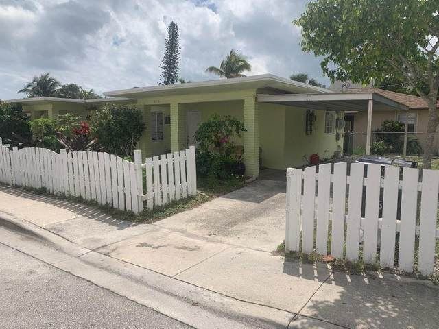 615 8th Avenue S, Lake Worth, FL 33460 (MLS #RX-10709943) :: The Jack Coden Group