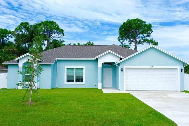 558 NW Colonial Street, Port Saint Lucie, FL 34983 (MLS #RX-10709967) :: The Paiz Group