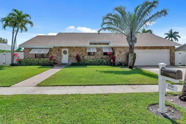 3708 Diane Drive, Boynton Beach, FL 33435 (#RX-10709972) :: Ryan Jennings Group