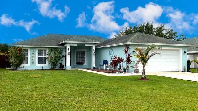 2049 SW Beauregard Street, Port Saint Lucie, FL 34953 (MLS #RX-10709988) :: The Jack Coden Group