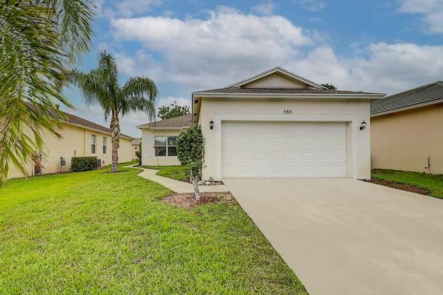 585 SW Indian Key Drive, Port Saint Lucie, FL 34986 (#RX-10710096) :: Signature International Real Estate