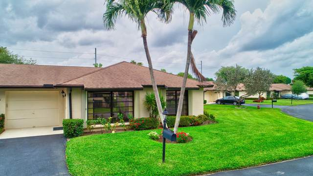 4878 Equestrian Road B, Boynton Beach, FL 33436 (#RX-10710232) :: Ryan Jennings Group