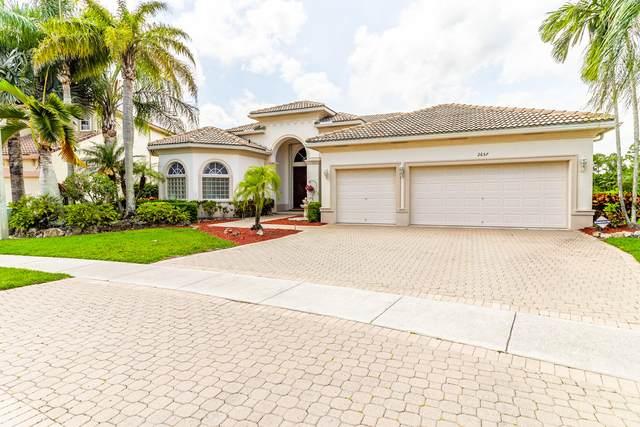 2657 Windwood Way, Royal Palm Beach, FL 33411 (MLS #RX-10711403) :: The Paiz Group