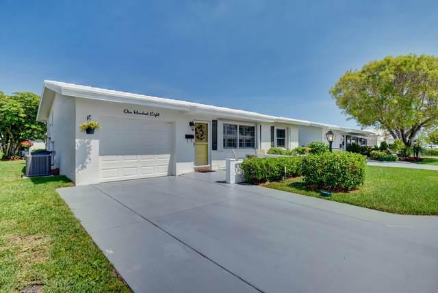 108 SW 10th Court, Boynton Beach, FL 33426 (#RX-10711436) :: The Rizzuto Woodman Team