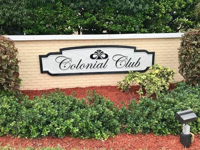 25 Colonial Club Drive #200, Boynton Beach, FL 33435 (#RX-10711547) :: Signature International Real Estate