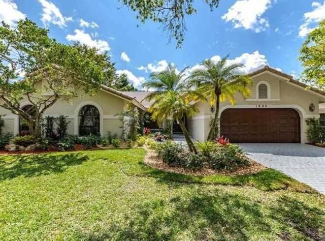 1900 Augusta Terrace, Coral Springs, FL 33071 (#RX-10711762) :: Michael Kaufman Real Estate
