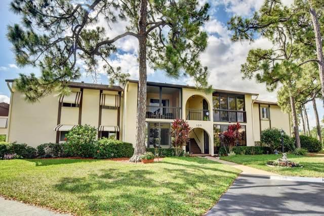 106 Lake Pine Circle D-2, Greenacres, FL 33463 (#RX-10711886) :: Ryan Jennings Group