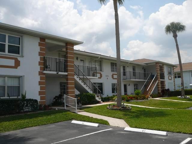 1203 S Lakes End Drive D-2, Fort Pierce, FL 34982 (#RX-10712087) :: Signature International Real Estate