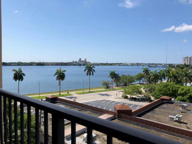 1801 N Flagler Drive #712, West Palm Beach, FL 33407 (#RX-10712385) :: Baron Real Estate