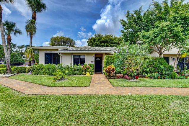 43 Stratford Lane A, Boynton Beach, FL 33436 (#RX-10712450) :: Baron Real Estate