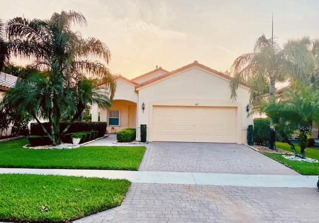617 NW Whitfield Way, Port Saint Lucie, FL 34986 (#RX-10712720) :: Michael Kaufman Real Estate