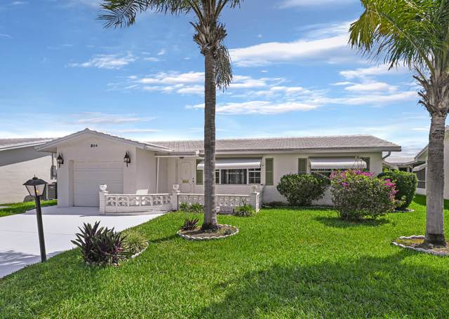 804 SW 18th Court, Boynton Beach, FL 33426 (#RX-10712729) :: The Rizzuto Woodman Team