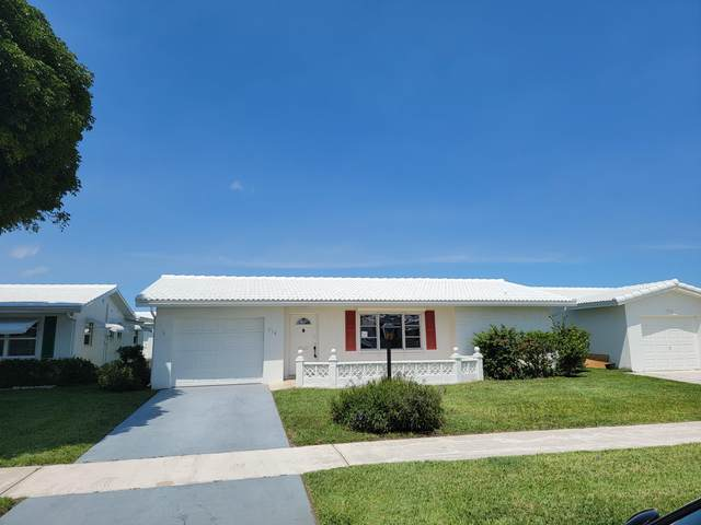 716 SW 18th Street, Boynton Beach, FL 33426 (#RX-10712736) :: Posh Properties