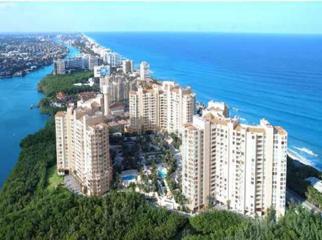 3740 S Ocean Boulevard #1408, Highland Beach, FL 33487 (MLS #RX-10712798) :: Berkshire Hathaway HomeServices EWM Realty