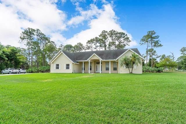 14716 86th Road N, Loxahatchee, FL 33470 (#RX-10712934) :: Baron Real Estate