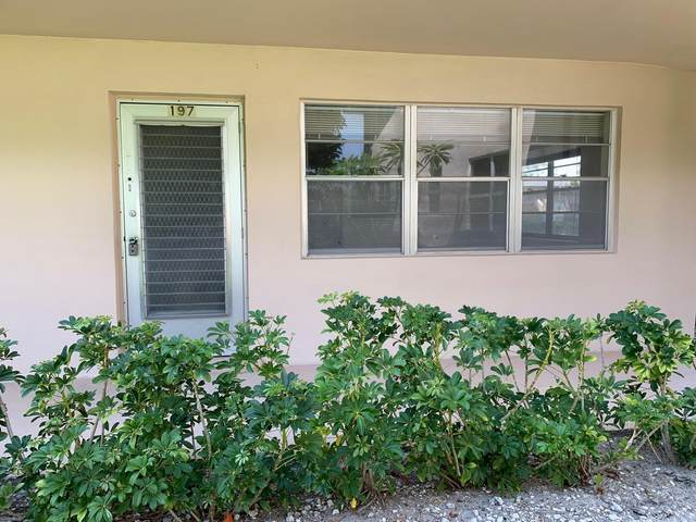 197 Camden I, West Palm Beach, FL 33417 (#RX-10712952) :: Baron Real Estate