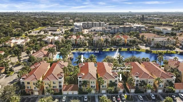 11029 Legacy Boulevard #203, Palm Beach Gardens, FL 33410 (MLS #RX-10713297) :: United Realty Group